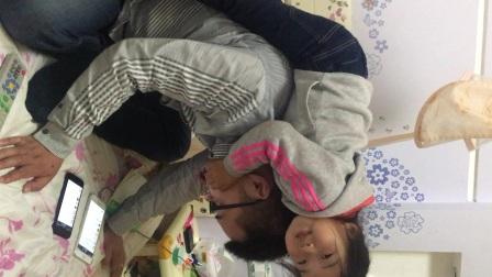 20170424 童童2岁10个月+25天  跟爸爸的日常——攀爬术