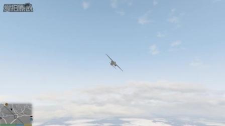 GTA5之麦可带富兰克林体验惊险飞行特技
