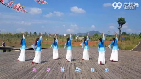 广场舞《花弦月》背面展示_标清
