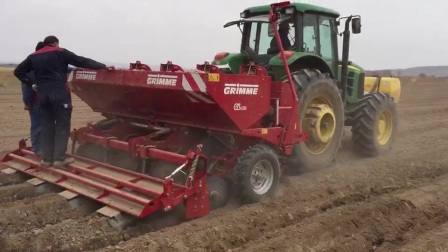 马铃薯播种机 GL410,播种+喷药+施肥+起垄成型一体机(2)
