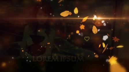 爱在秋季婚庆视频模板