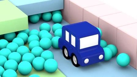 疯狂的卡通车,飞腾吧,我的小车