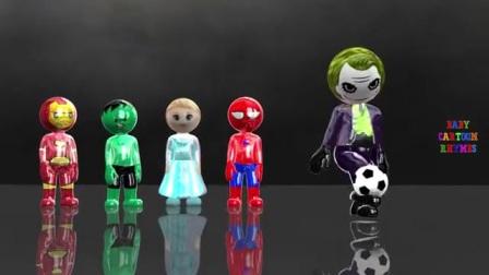 快乐足球染色,小朋友快来认识颜色和数字
