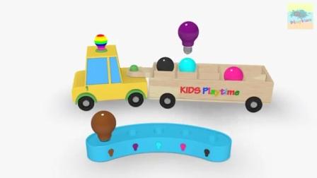 认识颜色和数字,好玩的玩具
