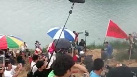 第一现场:于都县罗坳镇峡山十里河排拍电影现场