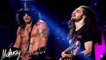 Slash on Howard Stern Show Interview 02272017