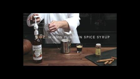 MONIN 香辛南瓜糖浆-香辛南瓜拿铁