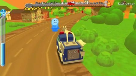 消防车对孩子- 消防车儿童游戏卡通视频为孩子们