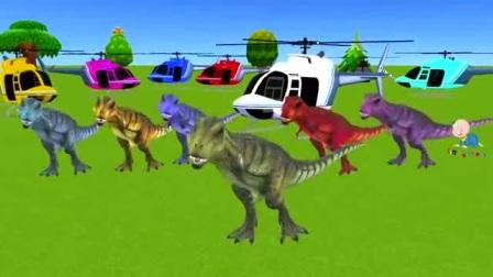 小动物和我们一起学习颜色