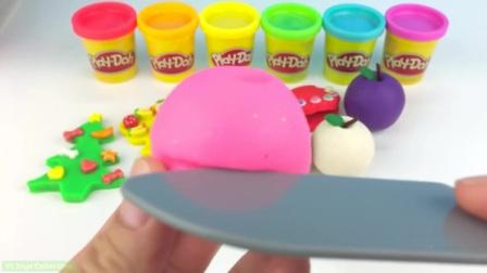 学习颜色和玩苹果的鱼玩具泰迪熊海蜇模具,给孩子们带来乐趣和创意