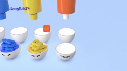 有趣的3d动画玩具,学习颜色