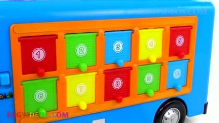 快乐停车场,学习停车场的颜色
