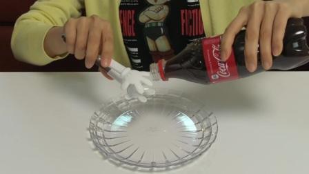 如何制作可食用的可口可乐自制黏黏黏胶