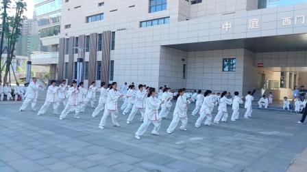 嘉鱼红山队四十八式太极拳