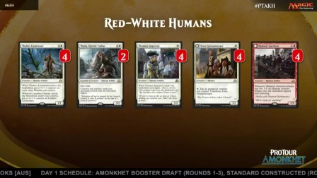 Pro Tour Amonkhet Deck Tech - Red-White Humans with Craig Wescoe