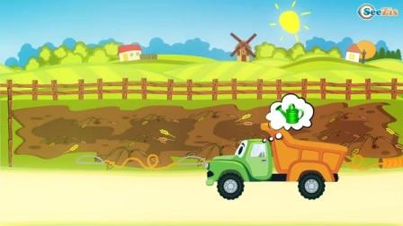 为了孩子存在的小卡车