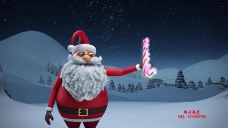 5、Edius6.08圣诞老人变身为冰雪之王