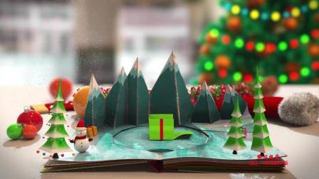 6、Edius6.08圣诞节祝福贺卡