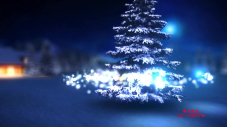 14、Edius6.08蓝色圣诞树