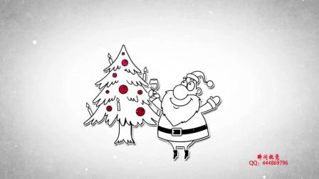 17、Edius6.08卡通圣诞节祝福素材