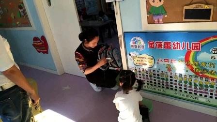 6期金蓓蕾幼儿园五月接待和入厕