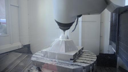 台湾新卫卧式五轴加工中心UMC-1000 NASA试件加工