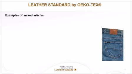 LEATHER STANDARD by OEKO-TEX®