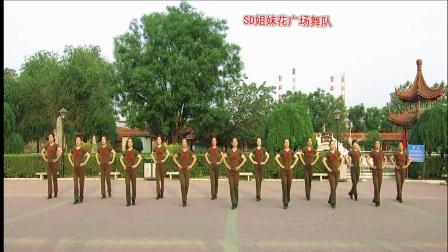 SD姐妹花广场舞队 单人水兵舞 北京的金山上 编舞 杨艺 立华 视频制作 薇薇