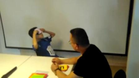 上海曹老师教导大脑开发课程现场实录视频