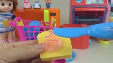 娃娃玩具教你在家做饭