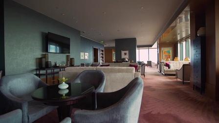 上海静安香格里拉大酒店——豪华阁贵宾廊