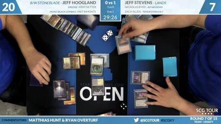 SCGKY - Round 7 - Hoogland, Ketter, Bimonte vs Stevens, Byrd, Allen