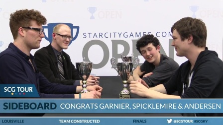 SCGKY - Winners Interview with Spencer Garnier, Clay Spicklemire, and Chris Ande