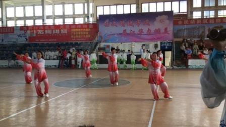 江华县太极拳协会太极二队40式杨式太极拳