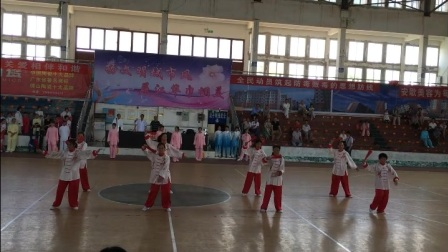 道县太极拳协会45式吴式太极拳