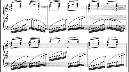斯特拉文斯基-彼得鲁什卡-俄罗斯舞曲-钢琴版
