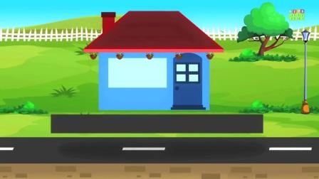 孩子们玩时间的建造者让我们为孩子们建造一个房屋建造的视频