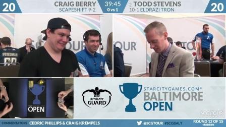 SCGBALT_-_Round_12_-_Craig_Berry_vs_Todd_Stevens