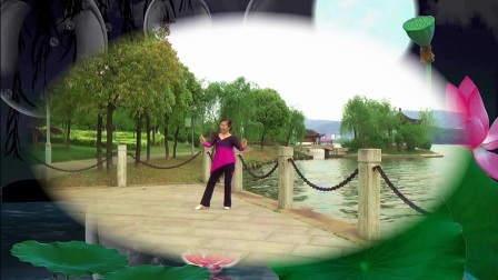 形体舞《中国字画》演唱极泷、编舞张惠、改编燕剪春、演绎舞痴、摄像老七、制作紫罗兰