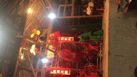 杨坑村-健身文化站-三狮图表演