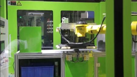 PMC机械手机器人配合伊之密工具箱取出自动化