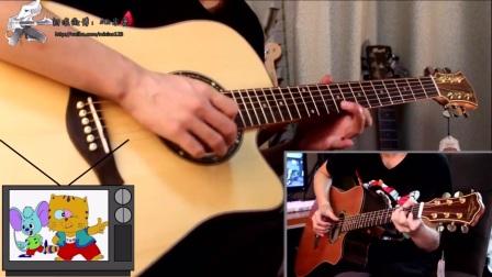 吉他大神无缝连弹29首童年的歌曲 你听过多少?