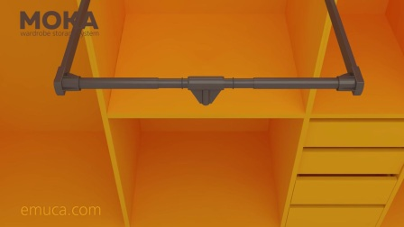 How to install the Hang folding hanger