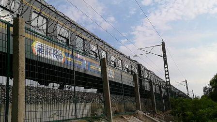 【广州K302徐州】电客快302阜阳王店时速116公里