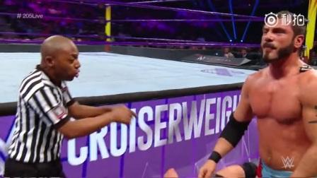 轻量级:艾瑞亚斯VS内维尔自动放弃赛 - WWE摔跤娱乐