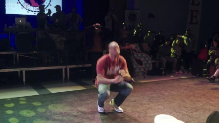 Caleaf (house dance) judges solo at Versa-Style Dance Company Anniversary