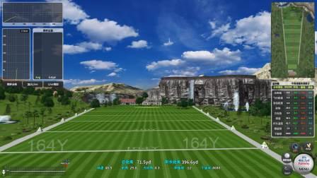 绿光科技室内高尔夫Greenly Golf HS Driving 高速摄像练习场