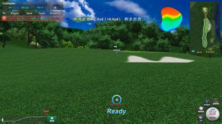 绿光智能科技室内高尔夫 Greenly Golf HS 高速摄像球场模式