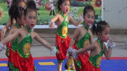 14.龙泉小星星幼儿园小班女孩舞蹈《捉泥鳅》