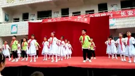 谷城县庙滩街道中心小学庆六一舞蹈《小苹果》艾丽编舞